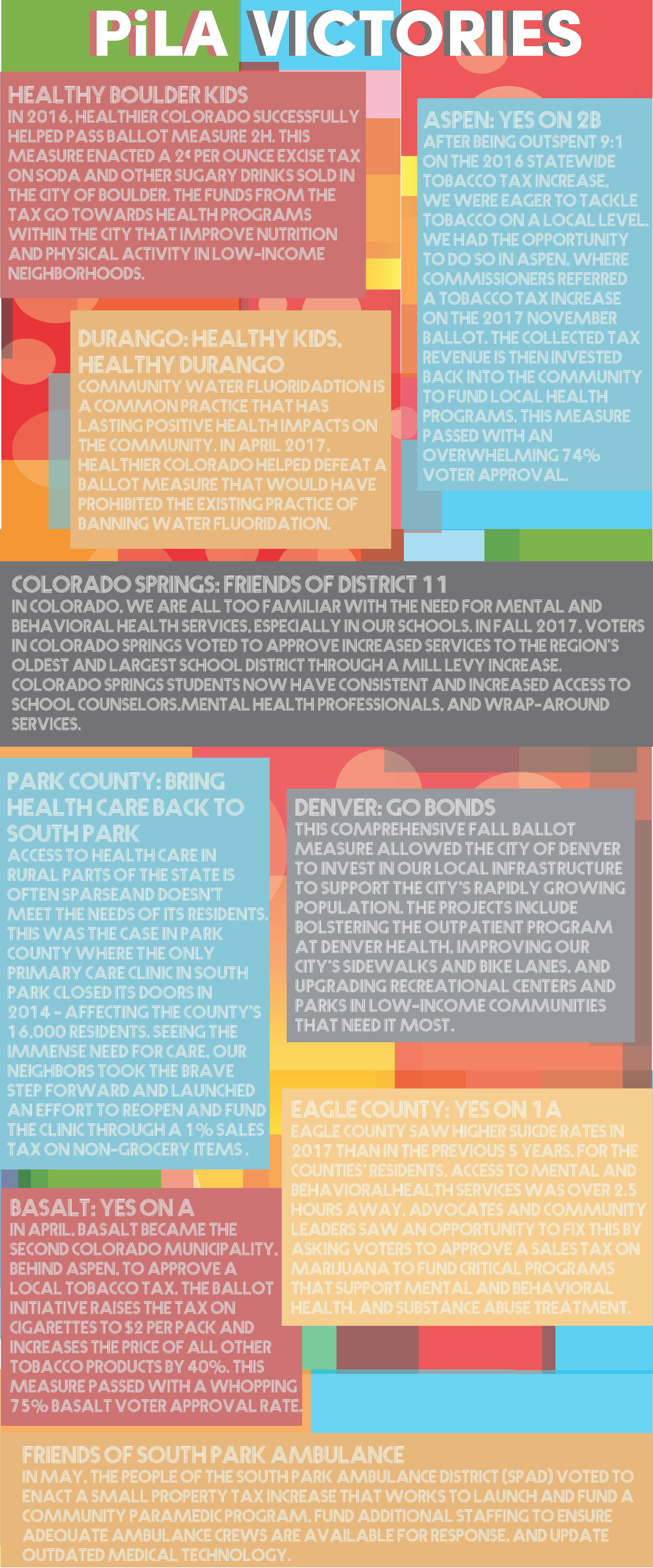 Pila Healthier Colorado